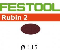 Abrasif pour ponçeuse FESTOOL Rubin 2 - Ø 115 mm