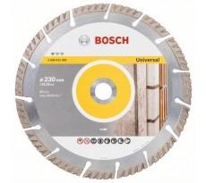 Disque à tronçonner diamanté BOSCH D Pro Universel ECO MATX construction 230x22.23 mm - 2608615065