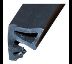 Joint de recouvrement KISO - rainure 3mm - 200M - SP 9710 F2 Noir