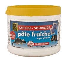 Raticide KOMAX pâte fraiche  - 150 gr - XP150