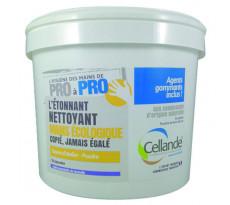 Poudre écologique CELLANDE pour les mains, efficace sur salissures résistantes - Seau de 5L - 504008CELCE