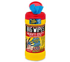 Lingettes Heavy Duty BIG WIPES - boîte de 120 - 6404101
