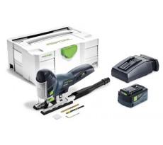 Scie sauteuse FESTOOL CARVEX PSC 420 Li 18 - Batterie 18V 5.2 Ah, chargeur, coffret - 574709