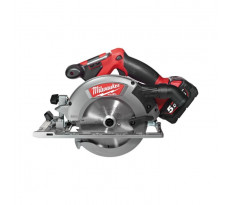 Scie circulaire MILWAUKEE M18CCS55-902X - 165mm - 2 batteries 18V 9.0Ah, chargeur - 4933451468