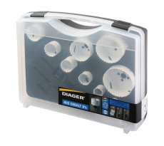 Mallette DIAGER 10 scie cloches cobalt - Spécial maintenance - 655C