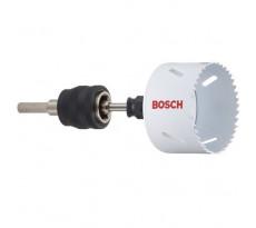 Scie trépan Progressor Ø 68 mm + Power Change 8 mm + foret centrage BOSCH - 2607017068