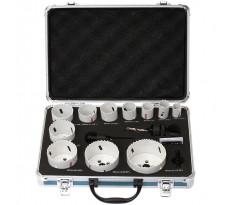 Coffret MAKITA de 11 scies cloches bi-métal - Avec adaptateur et ressort - D-47298