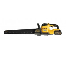 Scie alligator DEWALT - FLEXVOLT - 450 mm - 54 V XR - 2 Batteries, chargeur, sac de transport - DCS398T2