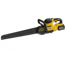 Scie alligator DEWALT - FLEXVOLT - 300 mm - 54 V XR - 2 Batteries 54V 6.0Ah, chargeur, sac de transport - DCS396T2