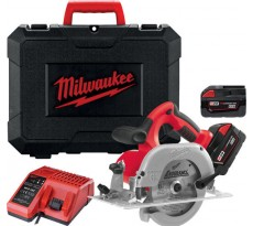 Scie circulaire MILWAUKEE HD28 CS-32C - 2 Batteries 28V 3.0Ah - 4933419017