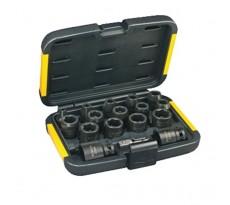 Coffret de douilles DEWALT 17 pièces + adaptateur - DT7506