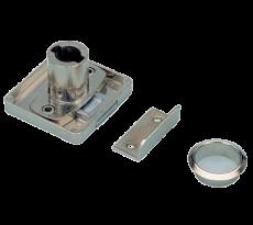 Serrure à cylindre HETTICH boîtier LAD Z23 Ø18 mm - 77894