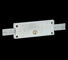 Serrure 2 points latéraux THIRARD pour rideau métalique - 001985