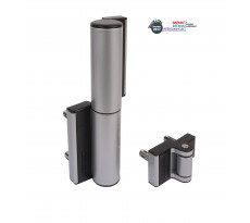 Charnière LOCINOX compact avec rappel de fermeture hydraulique - TIGER-ZILV
