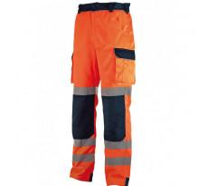 Pantalon Haute visibilité Orange/Bleu SINGER - PILO