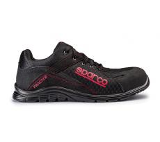 Chaussure de sécurité S24 SPARCO Pratice - Noir rouge - 07517