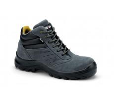 Chaussures de sécurité S24 COPA S1P - Croute de cuir velours gris - 5702