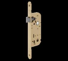Serrure à larder type GDF Bec de cane THIRARD Axe 40 - Fouillot 6 x 9 mm - Bronze - 00012190