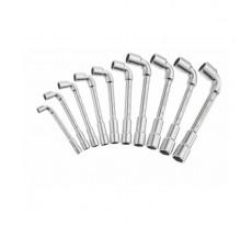 Jeu de 10 clés à pipe débouchées 6x12 pans STANLEY - 1-17-387