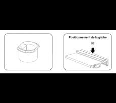 Gâche PE-PVC PE-GS BILCOCQ – PE-G-S