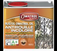 Antirouille incolore multifonction Rustol OWATROL - additif pour peintures