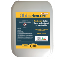 Traitement du bois Obbiatex APE1 OBBIA - bidon 5L - TEXAPE5