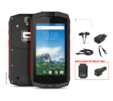 Pack Pro smartphone CROSSCALL TREKKER M1 CORE + Housse + Chargeur - TRM1C.PK.BO.AR045