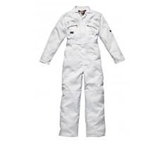 Combinaison de peintre DICKIES Redhawk - Blanc - 65% polyester 35% coton 260Gr - WD4839