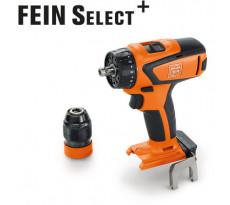 Perceuse visseuse ASCM 18V QSW Select FEIN - sans batterie ni chargeur - en coffret - 71161264000