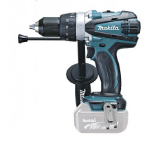 Perceuse visseuse à percussion MAKITA 18V Li-Ion Ø13 mm - Sans batterie, ni chargeur - DHP458Z