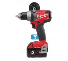 Perceuse Visseuse Fuel 18V 5Ah Bluetooth M18 ONEDD-502X MILWAUKEE - 4933451149