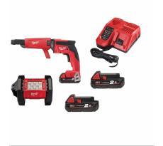 Pack Fuel 18V M18 FPP2J-202X Visseuse-Projecteur-Batteries-Chargeur MILWAUKEE - 4933459361