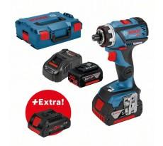 Perceuse visseuse GSR 18V-60 FC BOSCH - batterie 2x5.0Ah + Procore 18V 4.0Ah - 0615990K7K