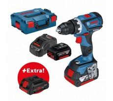 Perceuse visseuse GSR 18V-60 C BOSCH - batterie 2x5.0Ah + Procore 18V 4.0Ah - 0615990K7L