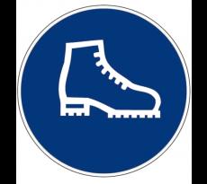 Disque Obligation de porter des chaussures NOVAP - Ø300 mm - 4061665