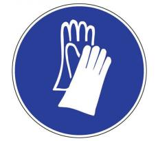 Disque obligation de porter des gants NOVAP - Ø300 mm - 4061658