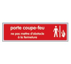 Plaque Porte coupe-feu NOVAP - plexi - 4036557