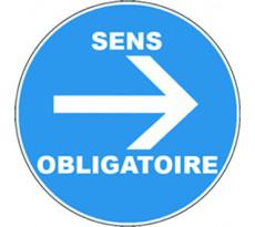 Disque VISO - Sens obligatoire - Ø280 mm - DPO38