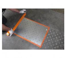 Gabarit de perçage DINAC pour plots podotactiles DINACLOU - 1022540