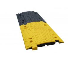 Paire de ralentisseurs VISO - noir et jaune - 500 x 430 x 50 (x2) - FAST70NJ