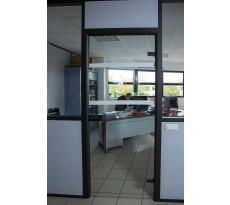 Rouleau pour repérage surfaces vitrées PVC translucide-dépoli WATTELEZ - 10m x 50mm - 810301DEP