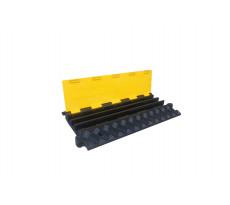 Passe-câble industriel  VISO - jaune et noir - 910 x 500 x 70 mm - supporte 20T - CP1031