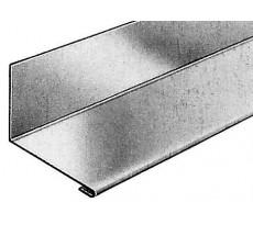 Raccordement sur mur latéral VM ZINC - anthra-zinc - pose à gauche - 80 x 60 x 24 mm - 1m - 206323000