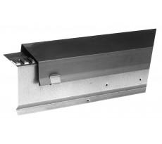 Faîtage mono pente Zinc naturel VM942 VM Building - Ep.2mm L.1.95m - 211724000