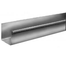 Gouttière carrée Zinc naturel - dev. 33 boudin de 14 - ep. 0.65 mm - 4 m - 204959000
