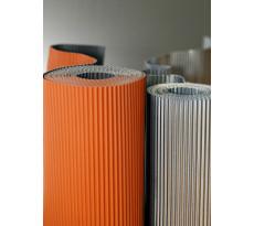 Bande de plomb plissé D'HUART INDUSTRIE - 10000 x 330 x 0.8 - 32.9 kg