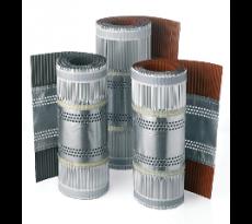 Promo closoir souple zinc naturel brique l.5m lrg.340mm palette 12 cart(72 roul)
