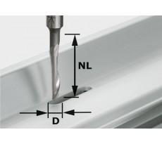 Fraise aluminium HS avec queue de 8mm FESTOOL HS S8 D5/NL23 - 491036