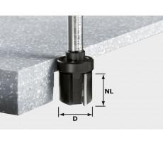 Fraise à affleurer HW avec queue de 12 mm FESTOOL HW D28/25 ss S12 - 492705