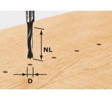 Fraise pour tourillons HW avec queue de 8mm FESTOOL HW S8 D6/30 Z - 491067